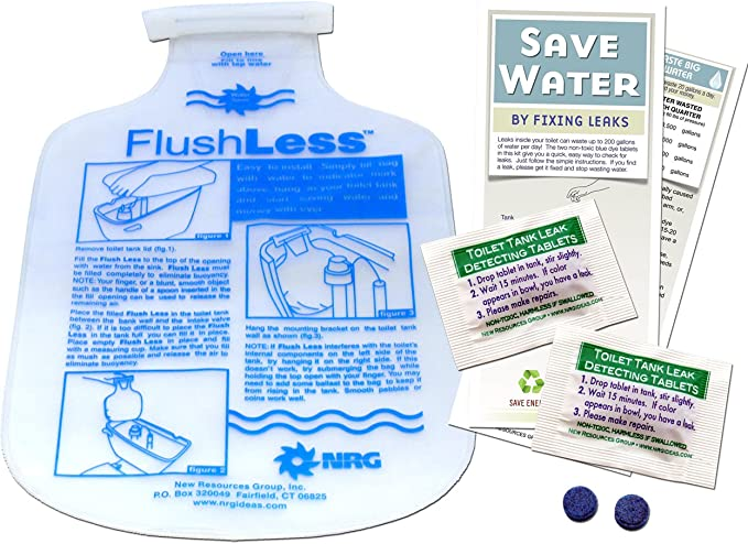 Niagara Conservation Toilet Tank Leak Detector Tablets 50 Packs 100 Tablets