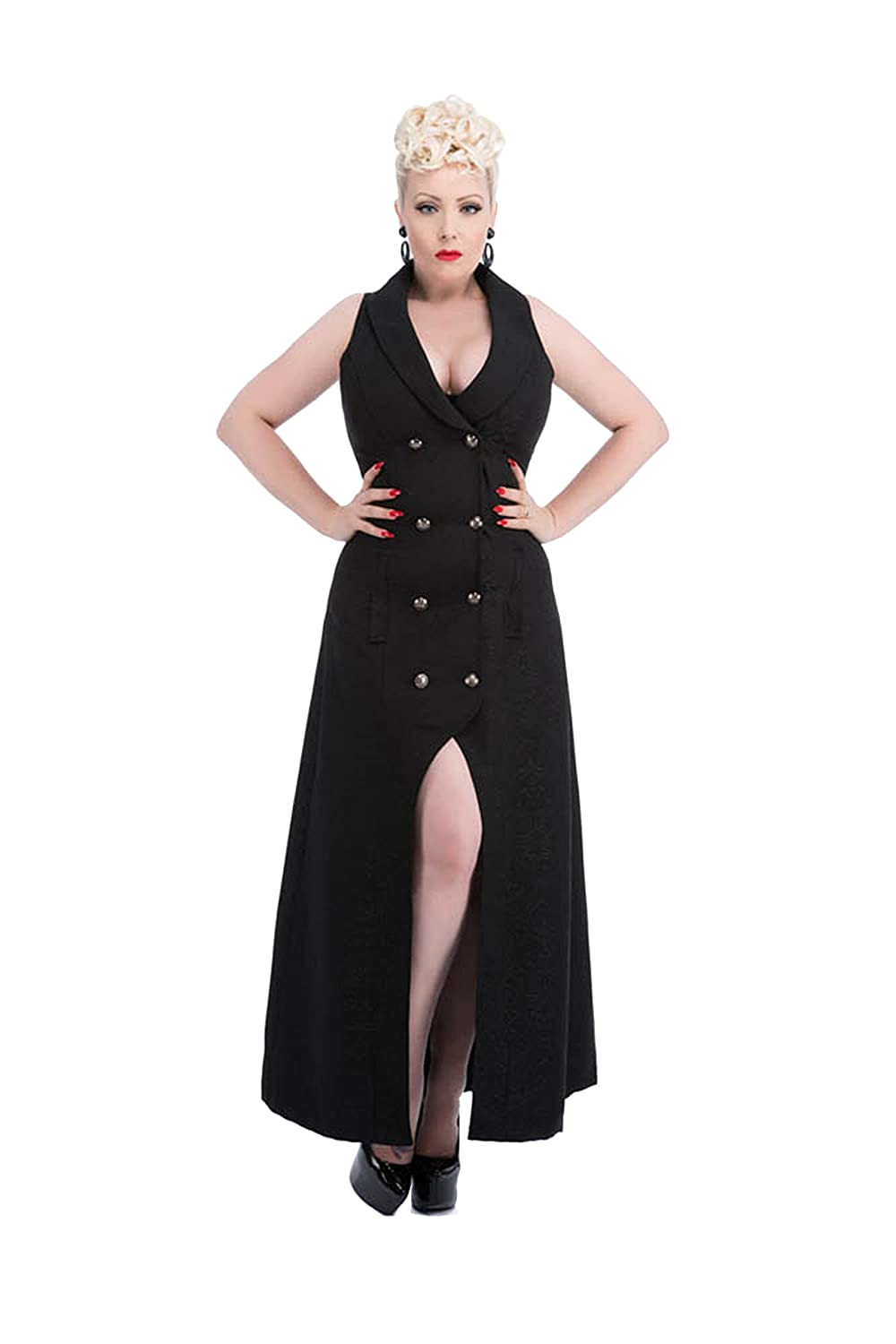Steampunk Jacket | Steampunk Coat, Overcoat, Cape Hearts & Roses Gothic Waistcoat (Shipped from US and US Sizes) $64.88 AT vintagedancer.com
