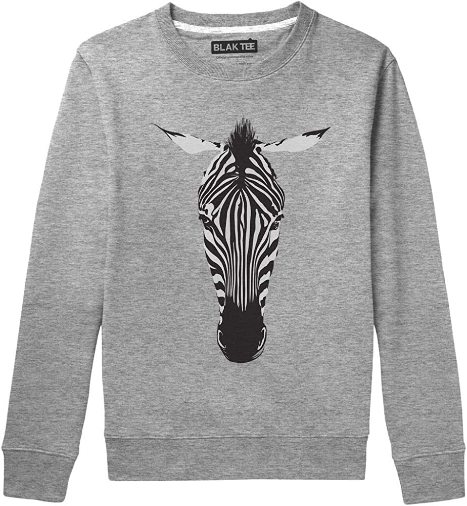 BLAK TEE Hombre Animal Kingdom Zebra Pattern Head Camisa De Entrenamiento S: Amazon.es: Ropa y accesorios