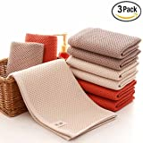 HANTAJANSS Cooling Bath Towel Solid Color Outdoor Travel Swimming Camping Towel 3pcs
