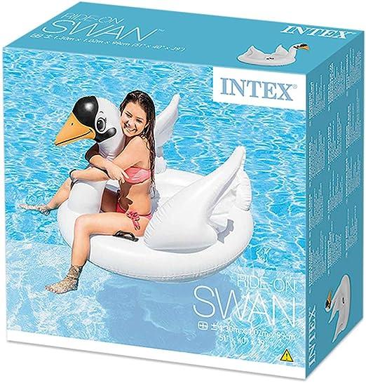 Intex 57557NP - Cisne hinchable 130x102x99 cm: Amazon.es: Juguetes ...