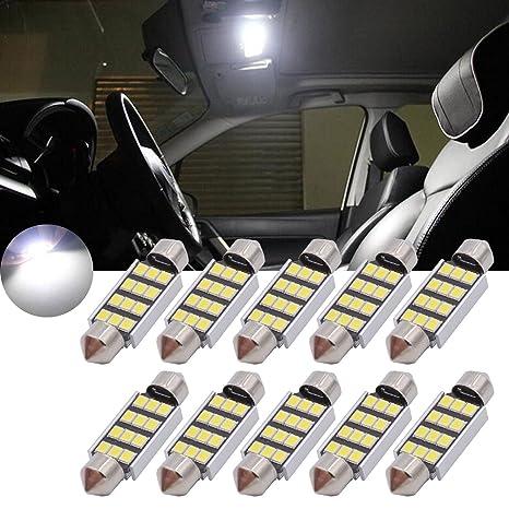 TUINCYN - Bombilla LED blanca 1,25 pulgadas (39 mm), CAN bus