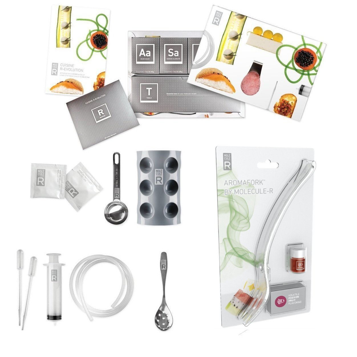 molecule r aroma combo cuisine molecular gastronomy kit aromafork double pack ebay. Black Bedroom Furniture Sets. Home Design Ideas