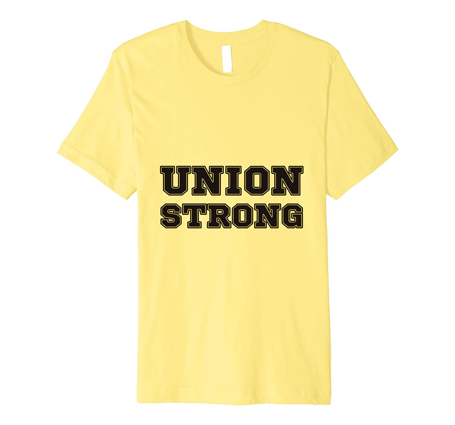 Union Strong Tee shirts Short sleeves