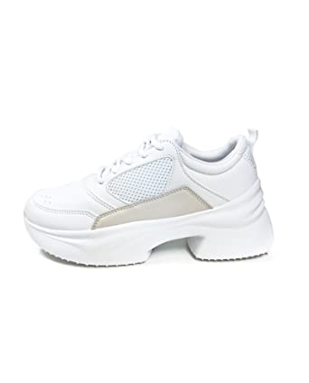 Amazon Com Zara Women Chunky Sole Sneakers 1417 301 Clothing