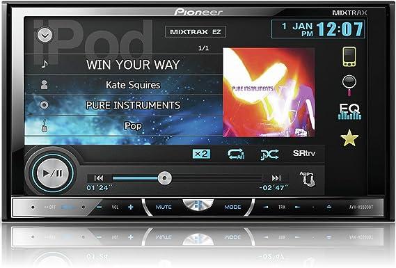 New Drivers: Pioneer AVH-X5500BT Car Multimedia