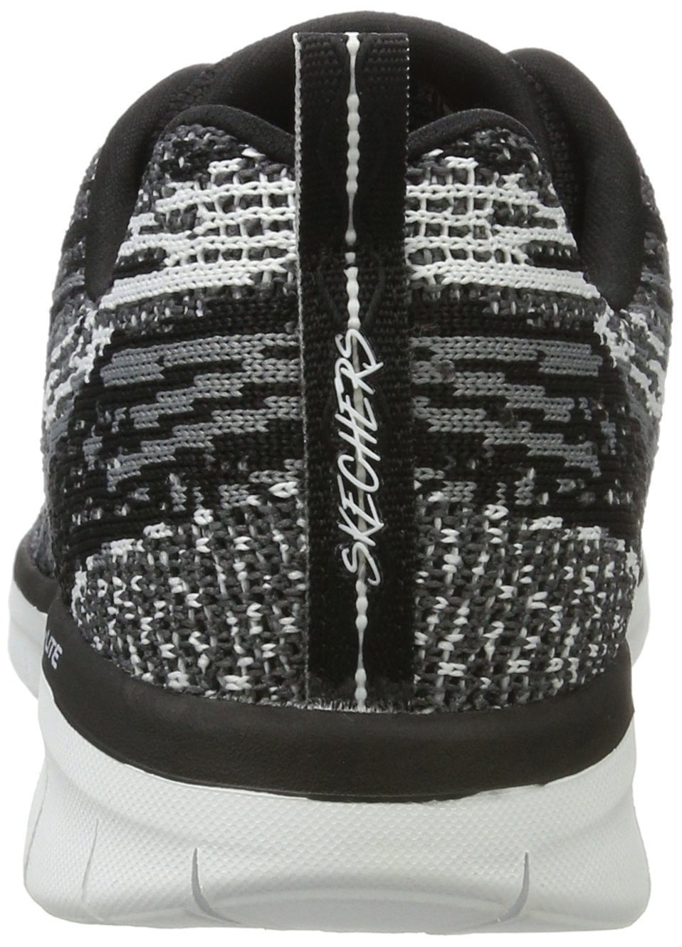 Skechers Sport Synergy 2.0 High Spirits Women's Sneaker B01MSAIZF7 7 M US|Black-grey
