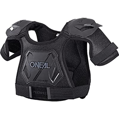 O'Neal Pee Wee Chest Protector Black (MD/LG): Automotive