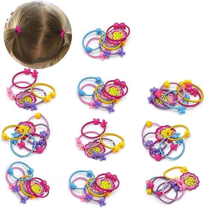 50 unidades de lazos para el pelo de bebé para niños y niñas con ...