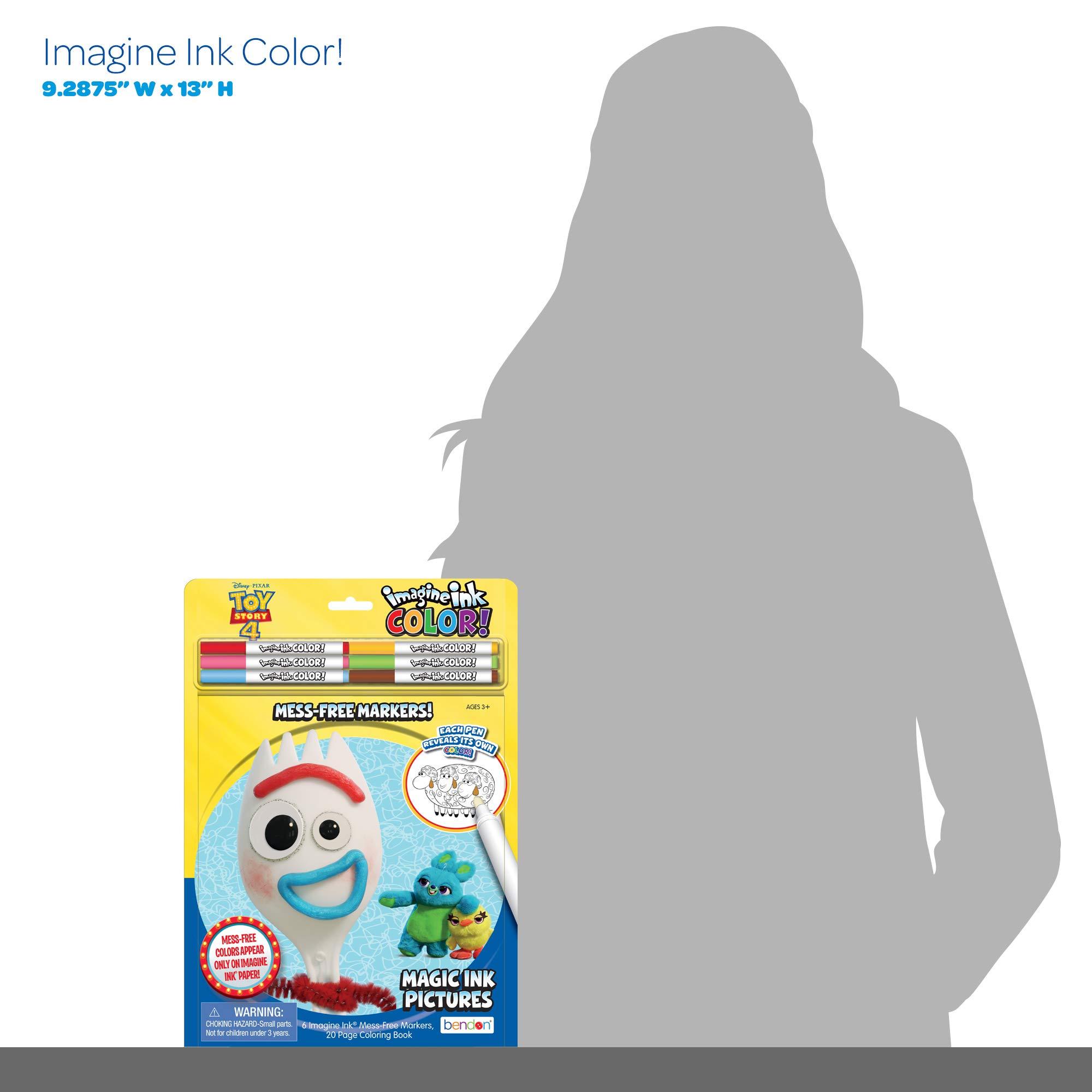 Mua Bendon Toy Story 4 Imagine Ink Color Pad Includes 6 Markers Multicolor 45408 Tren Amazon Má»¹ Chinh Hang 2020 Fado