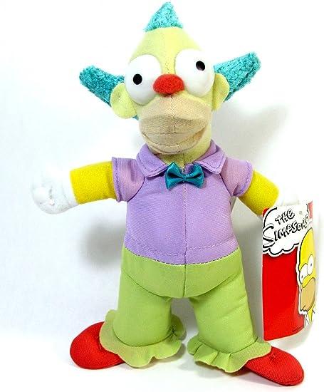 Amazon Com The Simpsons 9 Krusty The Clown Plush Toys Games