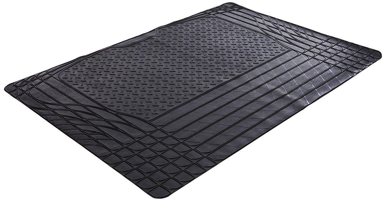 XtremeAuto® Tapis de coffre universel en caoutchouc noir antidérapant–Sticker inclus XtremeAuto®