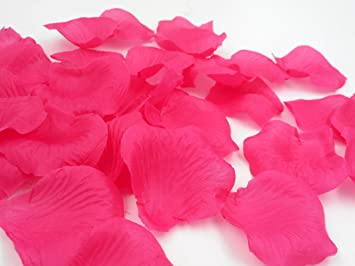 Amazon 1000pcs wedding rose petals polyester fabric flowers 1000pcs wedding rose petals polyester fabric flowers floor confetti reception table decorations bridal shower party supplies mightylinksfo