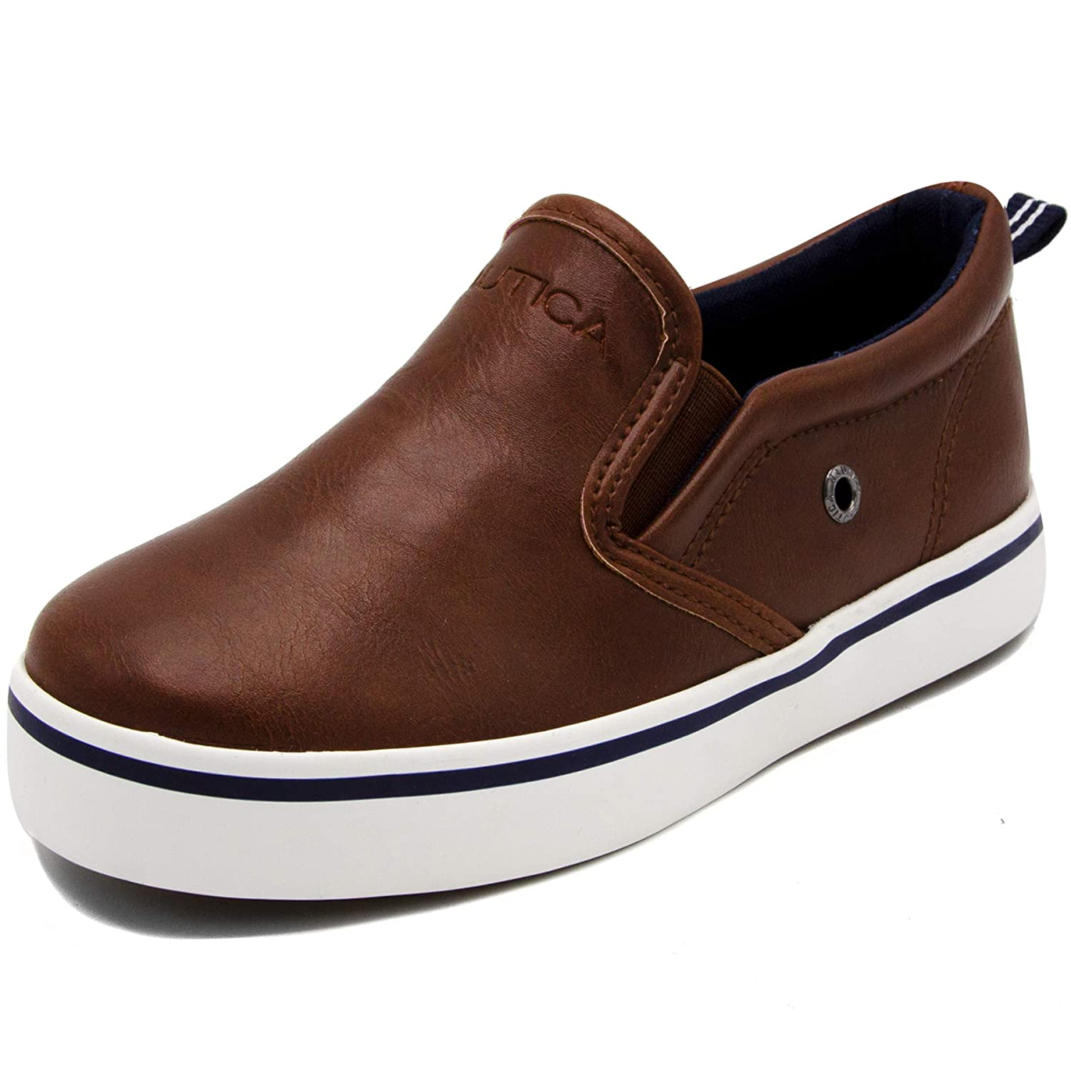 Toddler//Little Kid Nautica Akeley Toddler Canvas Sneaker Slip-On Casual Shoes