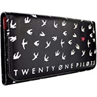 Twenty One Pilots Goner Don't Let me be Gone Black Tri-fold Purse