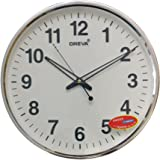 Buy Ajanta Quartz Wall Clock 32 Cm X 32 Cm X 2 Cm White