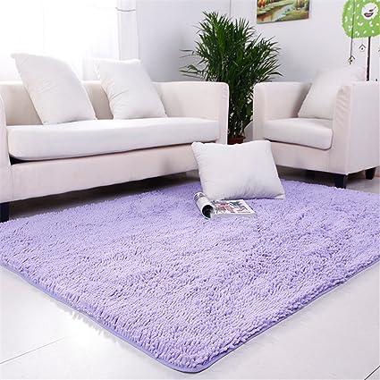 Amazon.com: Hoomy Soft Chinille Carpet Modern Livingroom Area Rugs ...