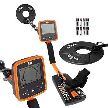 Amazon.com : Whites MX7 Weatherproof Metal Detector with 9.5