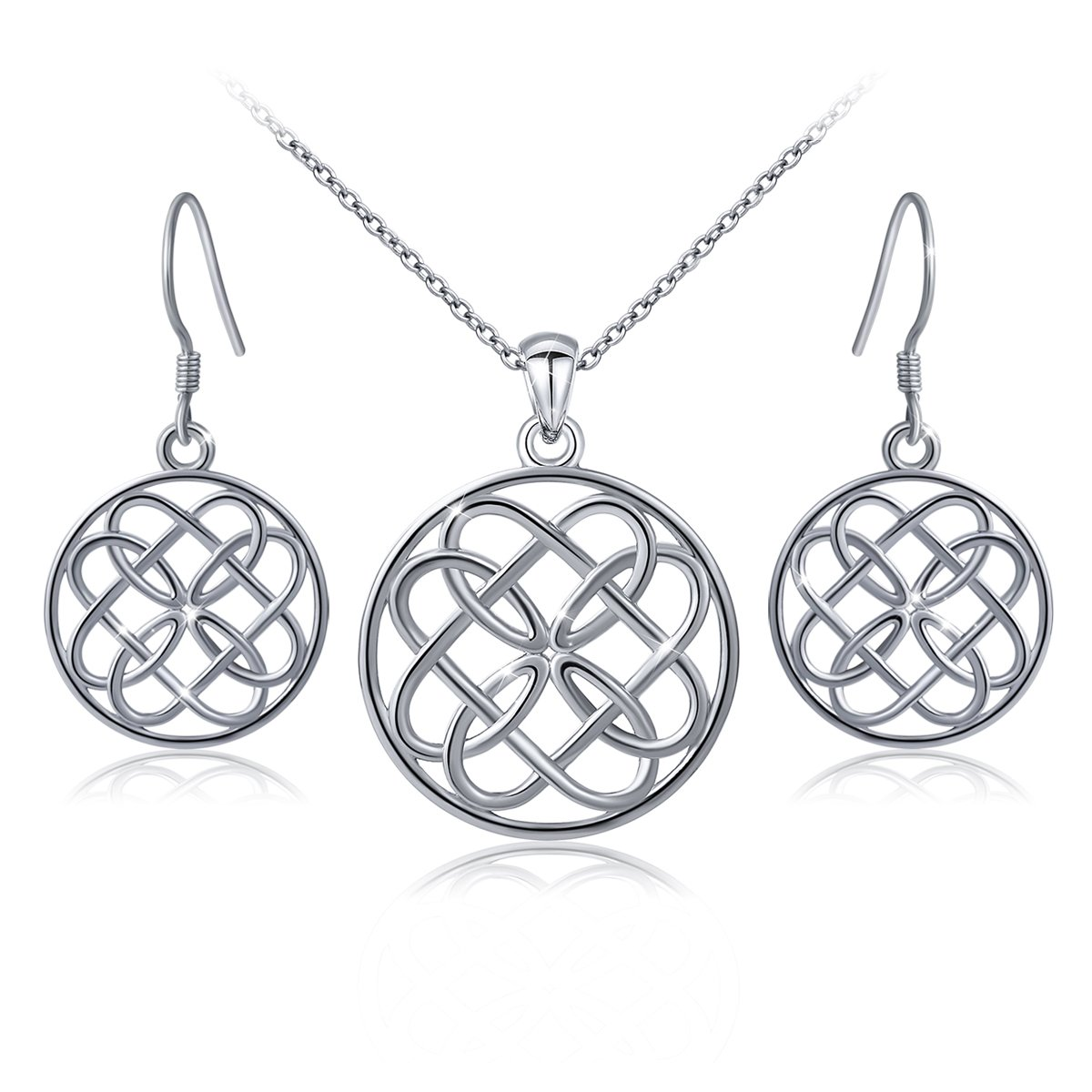 clothing jewellery celtic estore knot mariposa necklaces necklace style