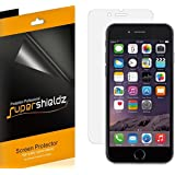 iPhone 6S Plus Screen Protector, [6-Pack] Supershieldz Anti-Bubble High Definition Clear Screen Protector For Apple iPhone 6S Plus - Lifetime Replacements Warranty- Retail Packaging