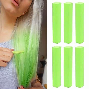 Amazoncom Crazy Neon Green Hair Dye Green Apple Temporary Hair