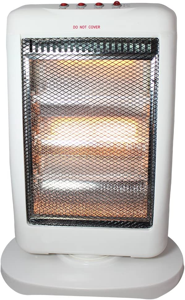 New 1200 watt halogen heater   in