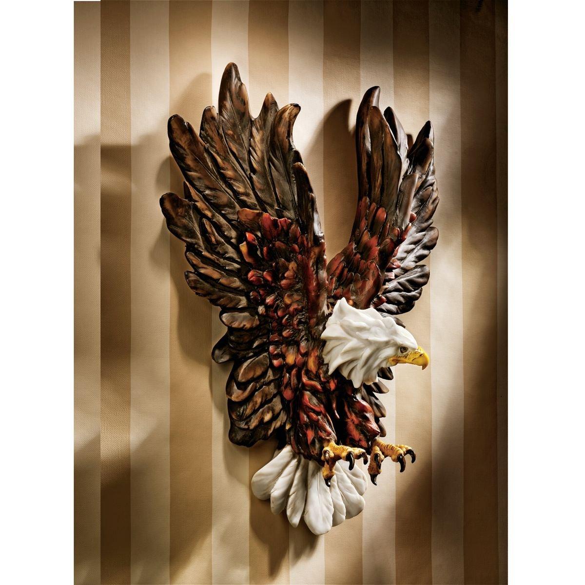 Design Toscano Libertys Flight Eagle Wall Sculpture