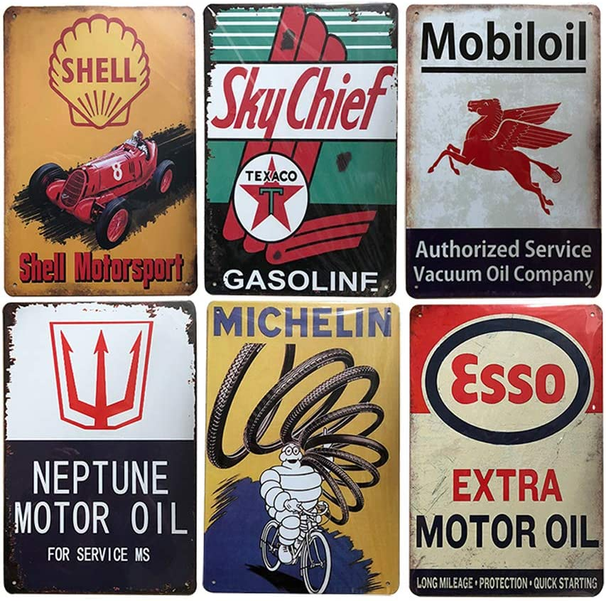 VINTAGE STYLE TEXACO GAS STATION RESTROOM CAST IRON  SIGN OIL MAN CAVE