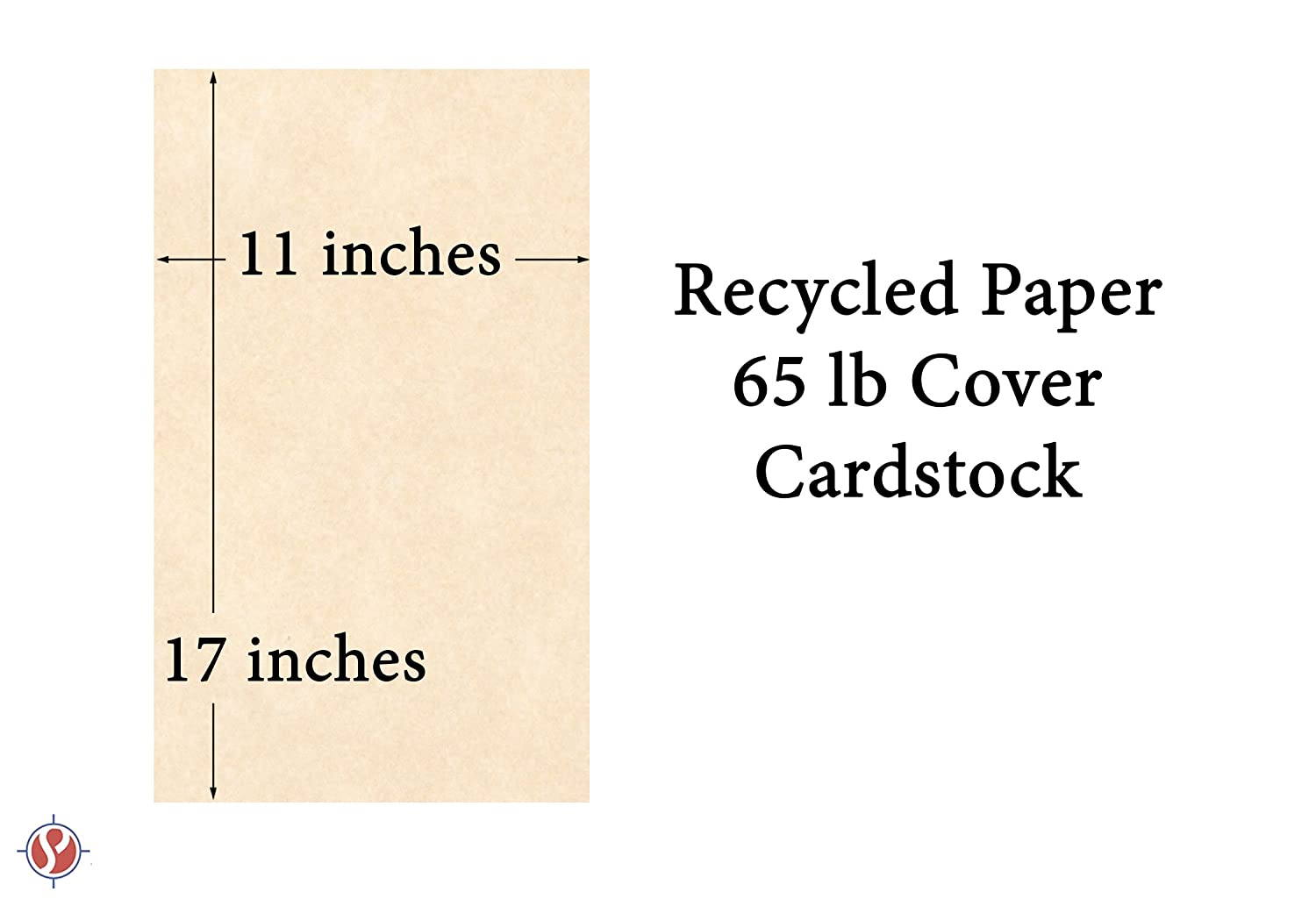 65lb Aged Stationery Parchment Cover Stock 11 X 17 Inches 50 Sheets