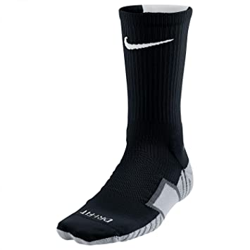 Nike Crew Socks Matchfit Football Calcetines, Unisex, Black/Wolf Grey/White, Small: Amazon.es: Deportes y aire libre