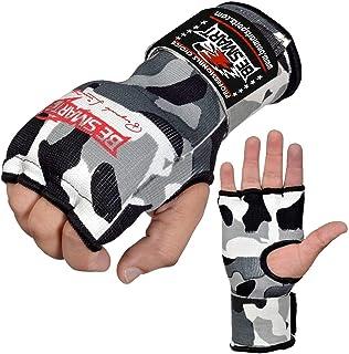 BeSmart Inner Hand Wraps Gants de Boxe Poing Bandages rembourrées MMA Gel Thai Kick Livraison Gratuite au Royaume-Uni