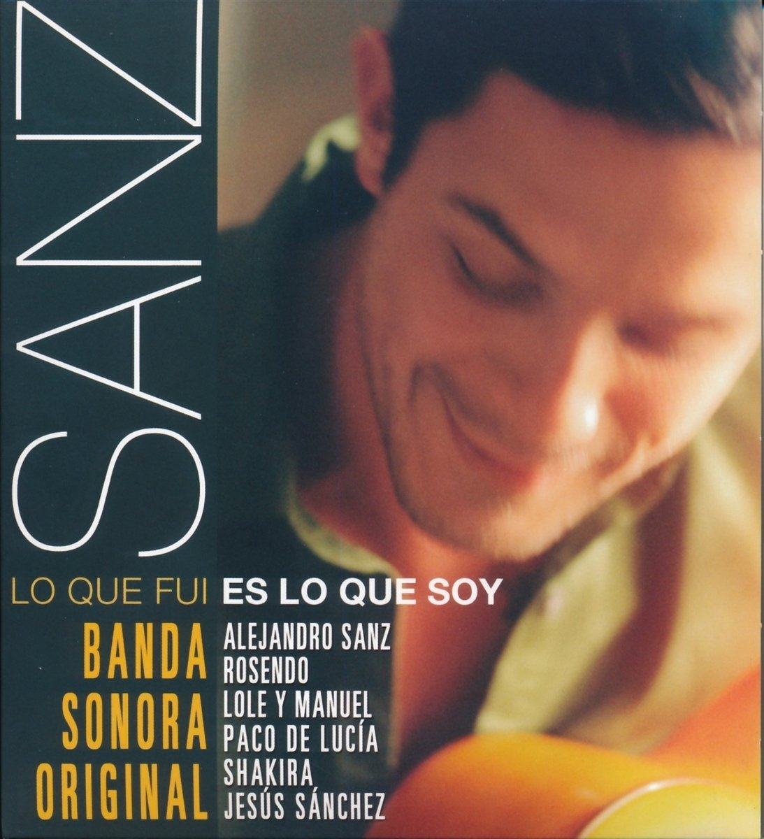 CD : Sanz - Lo Que Fui Es Lo Que Soy (Spain - Import)