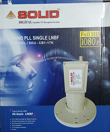 SOLID CB1-17K C-Band PLL Single LNBF