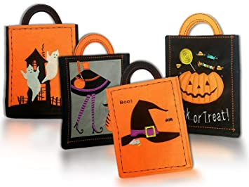 Bolsas para dulces de Halloween, bolsas reutilizables ...