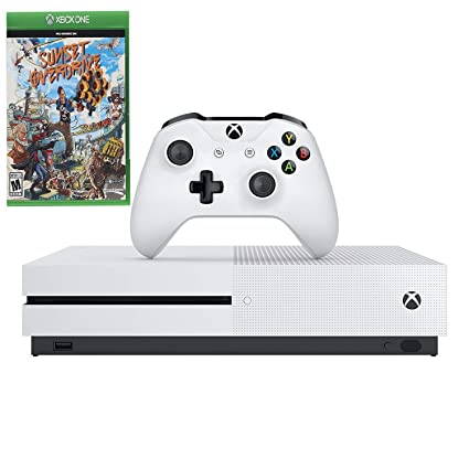 Amazon com: Microsoft Xbox One S 1TB White Console & Sunset