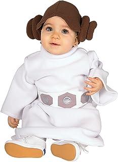 Rubieu0027s Infant/Toddler Princess Leia Star Wars Costume  sc 1 st  Amazon.com & Amazon.com: Star Wars Princess Leia Costume White Toddler: Clothing