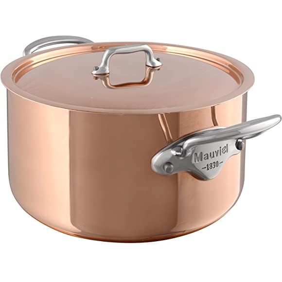 Mauveil Stewing Pan Stainless Steel Copper