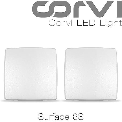 cb2048d62c82 Buy Corvi LED - 15 Watts - Surface 6S (White - Pack of 2) Online at ...