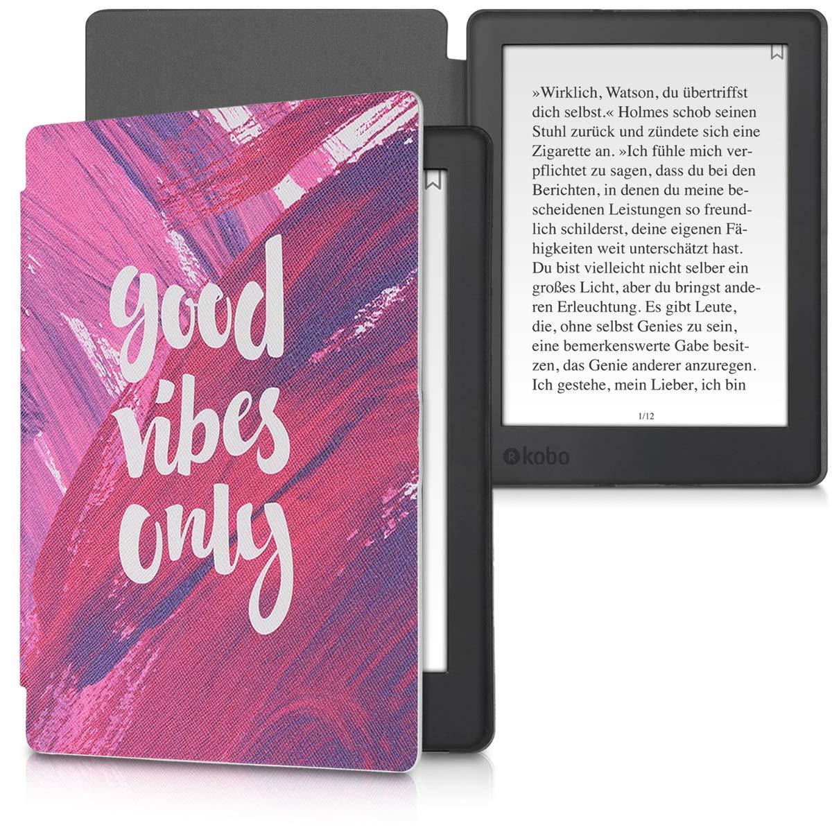 Book Style PU Leather Protective e-Reader Cover Folio Case