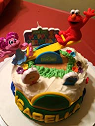 Amazon.com: Bakery Crafts - Sesame Street Elmo and Abby ...