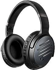 Mpow [Actualidad] H16 Cascos Bluetooth Inalámbricos, Auriculares Diadema con Cancelación Activa de Ruido, Cascos con Carga Rápida y 30 Hrs de Juegos, Cascos Plegable con Micrófono para TV PC Móvil