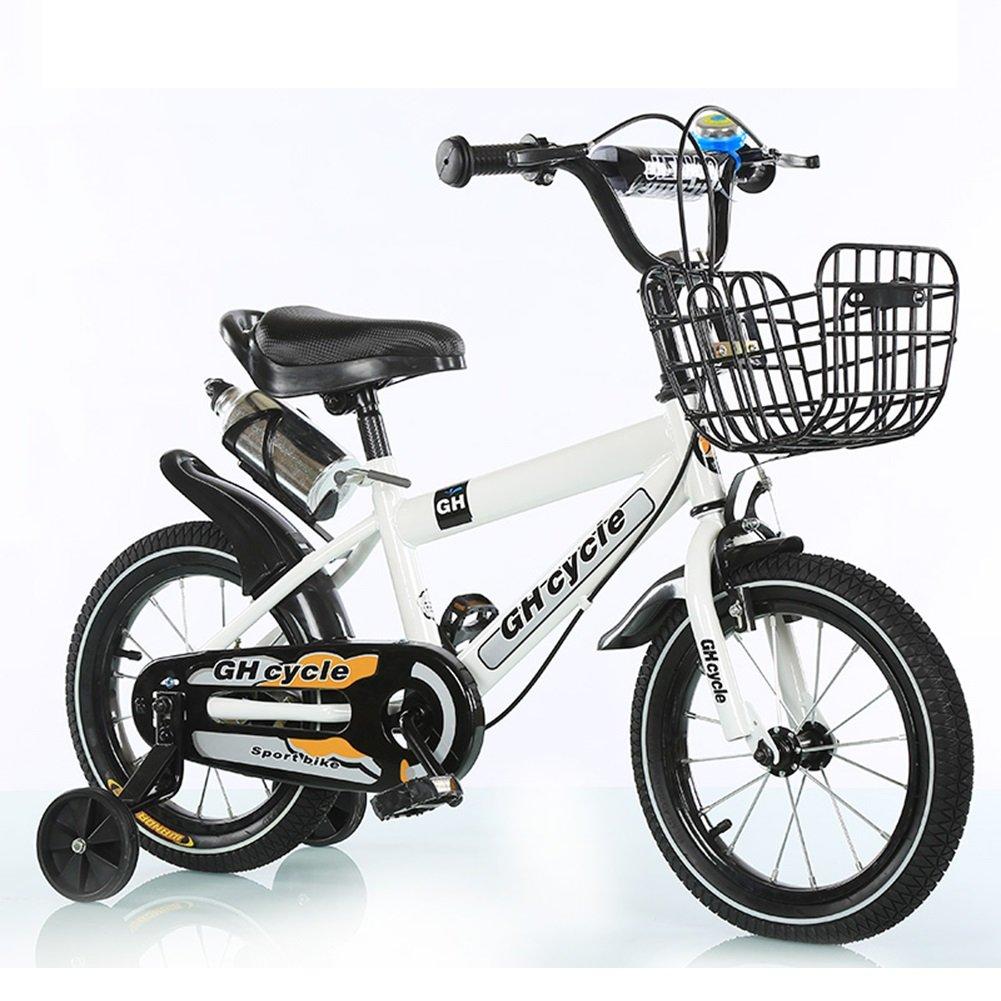 XQ 子供の自転車子供の赤ちゃんのキャリー2-3-6-8歳の男性と女性の自転車 子ども用自転車 ( 色 : 白 , サイズ さいず : 12-inch ) B07CJ9HCSJ 12-inch|白 白 12-inch