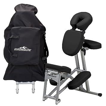 massage chair pad amazon. stronglite ergo pro ii portable massage chair package - lightweight, foldable tattoo spa pad amazon g