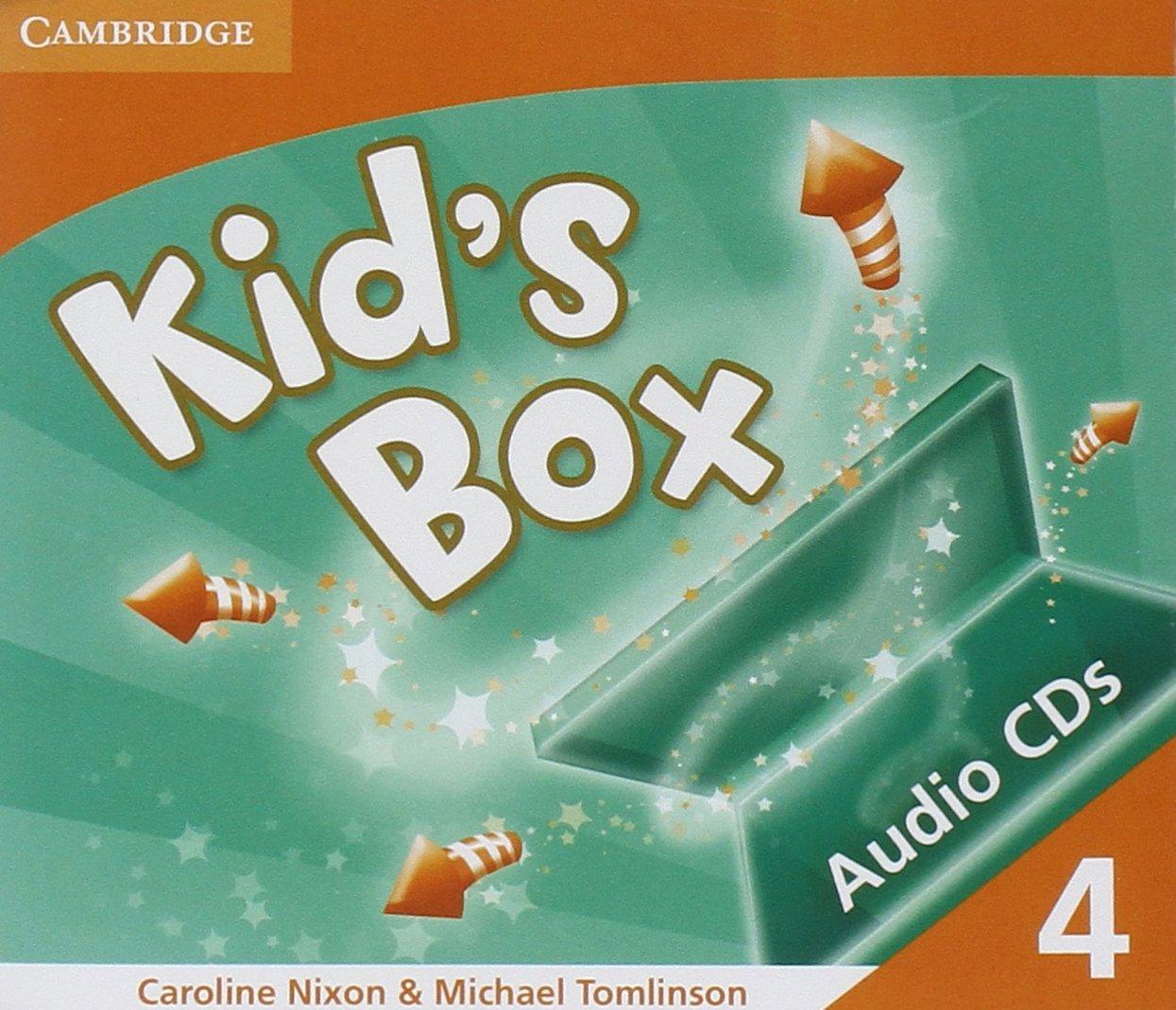 Kid's Box 4 Audio CDs (3) by Cambridge University Press