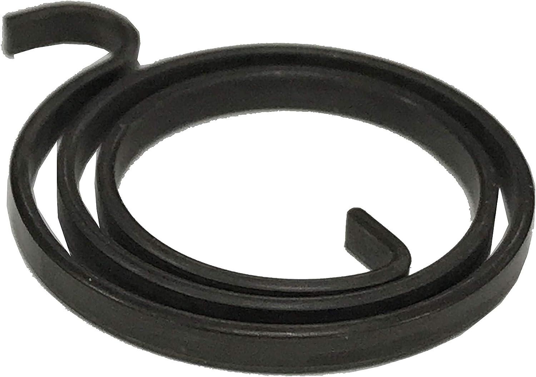 2,5 mm de grosor paquete de 10 unidades Resorte de reparaci/ón de bobina interna de repuesto para manija de puerta 2 y 1//2 vueltas