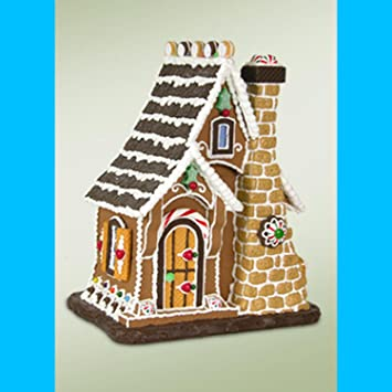 Amazon Com Byers Choice 14 Sugar Cookie Cottage Gingerbread