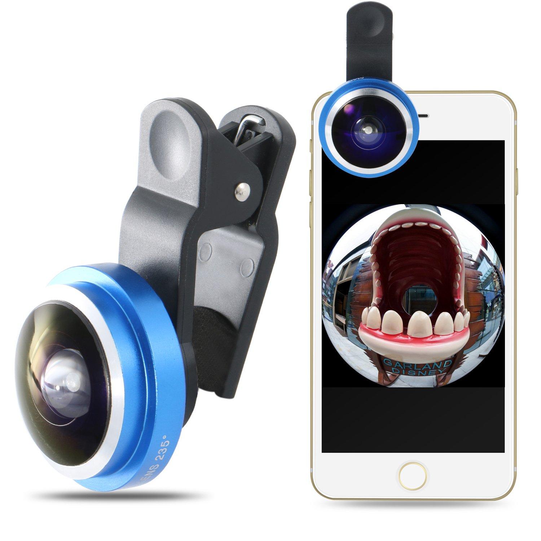 Kit de lente de cámara universal 2 en 1 para Smartphone, estilo clip (Mactrem gran angular y lente macro): Amazon.es: Electrónica