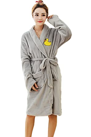 f1f72226d09b Bong Buy Women s Cute Totoro Bathrobe Robe- Soft Plush Comfy House  Sleepwear - -