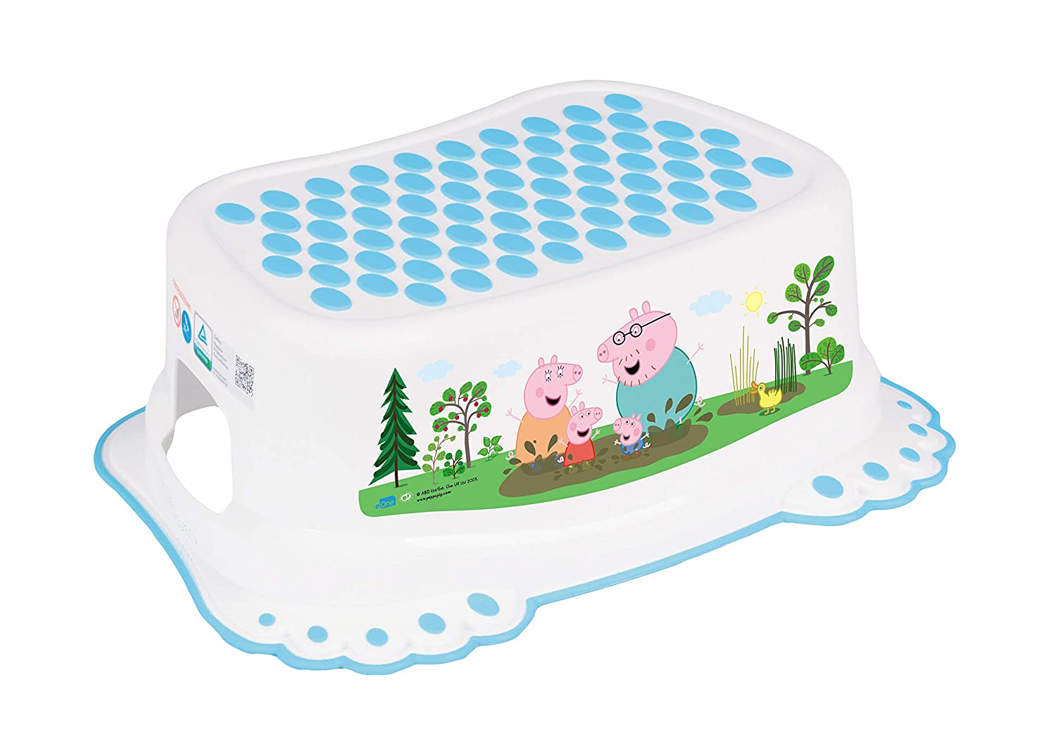STEP STOOL SAFE NON-SLIP BABY KIDS TOILET TRAINING TODDLERS POTTY Eco Pink