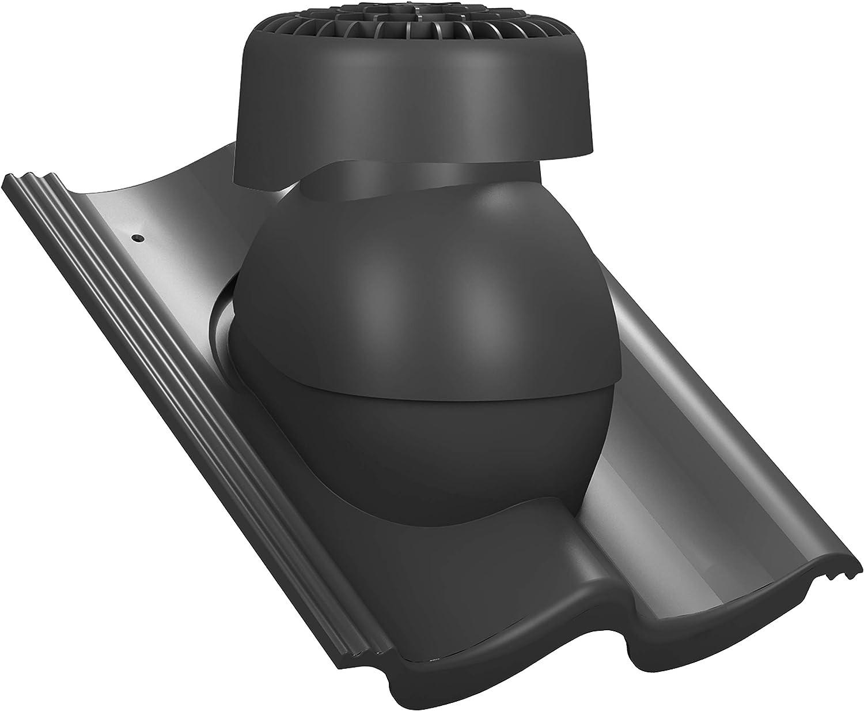Sanit/är Entl/üfter f/ür Abwasserleitungen RAL 3009 - Rot ProDach Doppel-S Dachziegel Dachl/üfter Sanil/üfter Nelskamp Doppel-S S Doppel-S f/ür Braas IBF